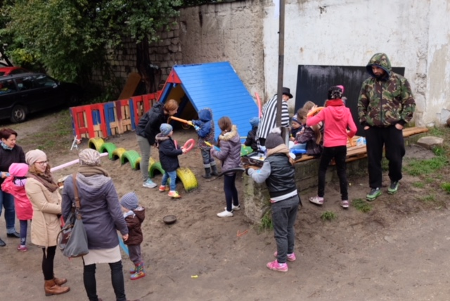Streetworking na ełckich podwórkach