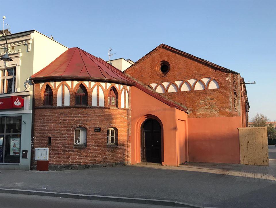 budynek dawnej hali sportowej w EŁku