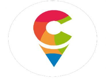 """Logo Ełckiego Centrum Rewitalizacji Społecznej """"Stajnia"""""""
