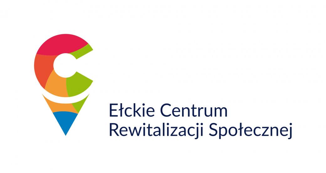 """Logo Ełckie Centrum Rewitalizacji Społecznej """"Stajnia"""""""