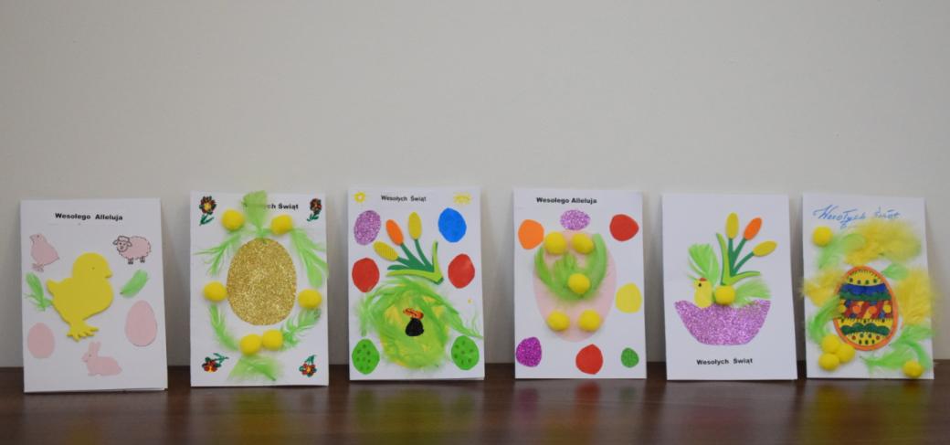 kartki świąteczne z okazji Wielkanocy
